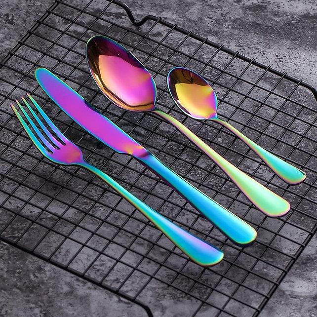 Regenbogen  flatware