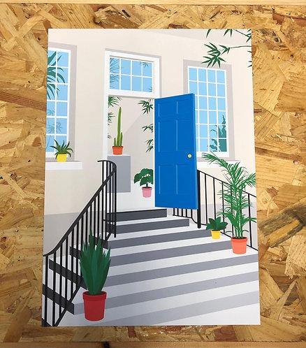 Root Houseplants x The Bluecoat Print