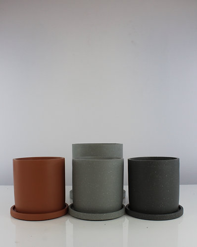 Anther + Moss pots