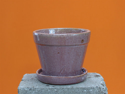 Sienna pot and dish