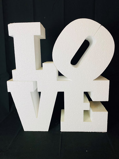 Polystyrene LOVE logo