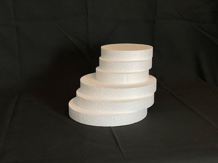 Round Polystyrene Disk 250mm