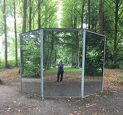 Dan Grahan, Oktagon für Münster, Skulptur Projecte Münster, 1987, selfie, Tine Zevenhuizen, 1917