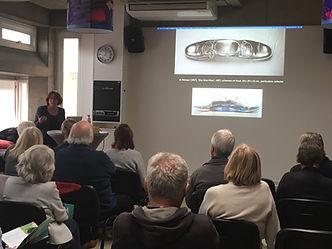 Introductie Kunstgeschiedenis, Vrije Academie, Tine Zevenhuizen, Foto Gerard Bults
