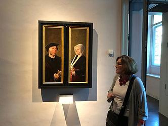 Tine Zevenhuizen, Museum Catharijne Convent, Jan van Scorel, rondleiding