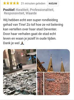 Deventer, Bergkwartier, Historische stadsrondleiding, Cicerones, Tine Zevenhuizen, gids, stadwandeling