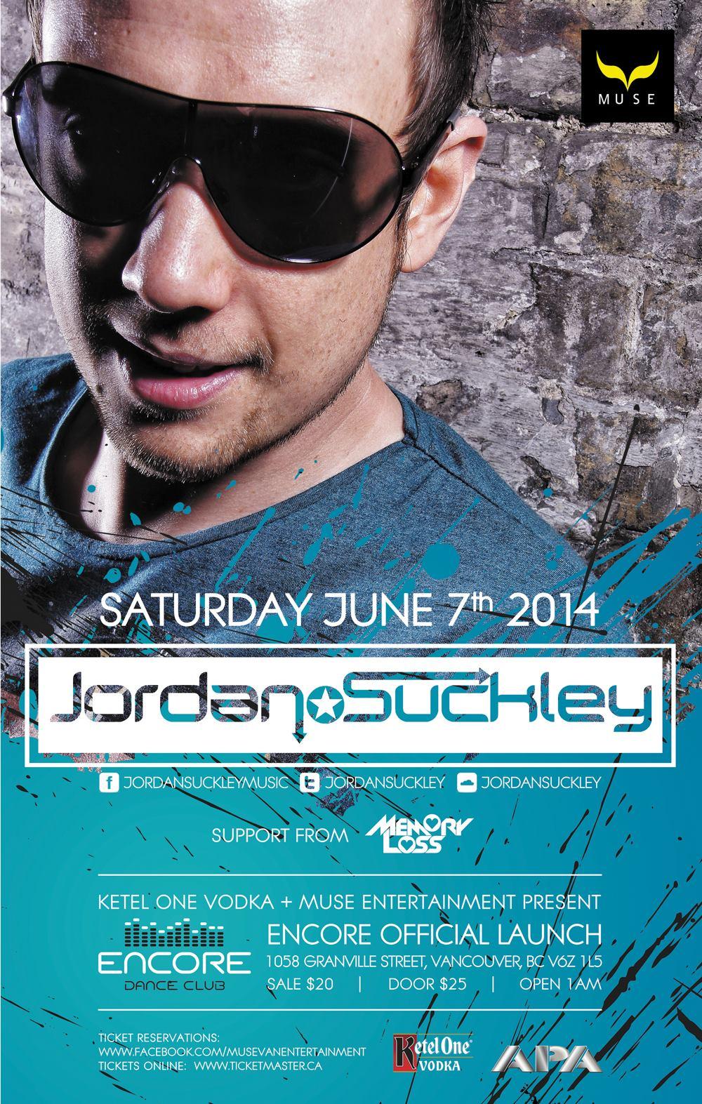 Jordan Suckley - Vancouver