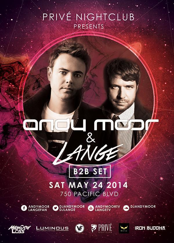 Andy Moor + Lange - Vancouver