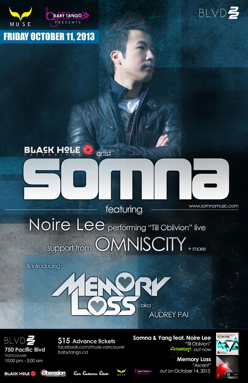 Somna+NoireLee+MemoryLoss -Vancouver