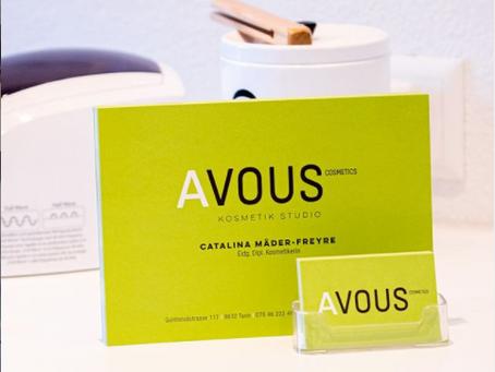Mein Kosmetikstudio avous cosmetics