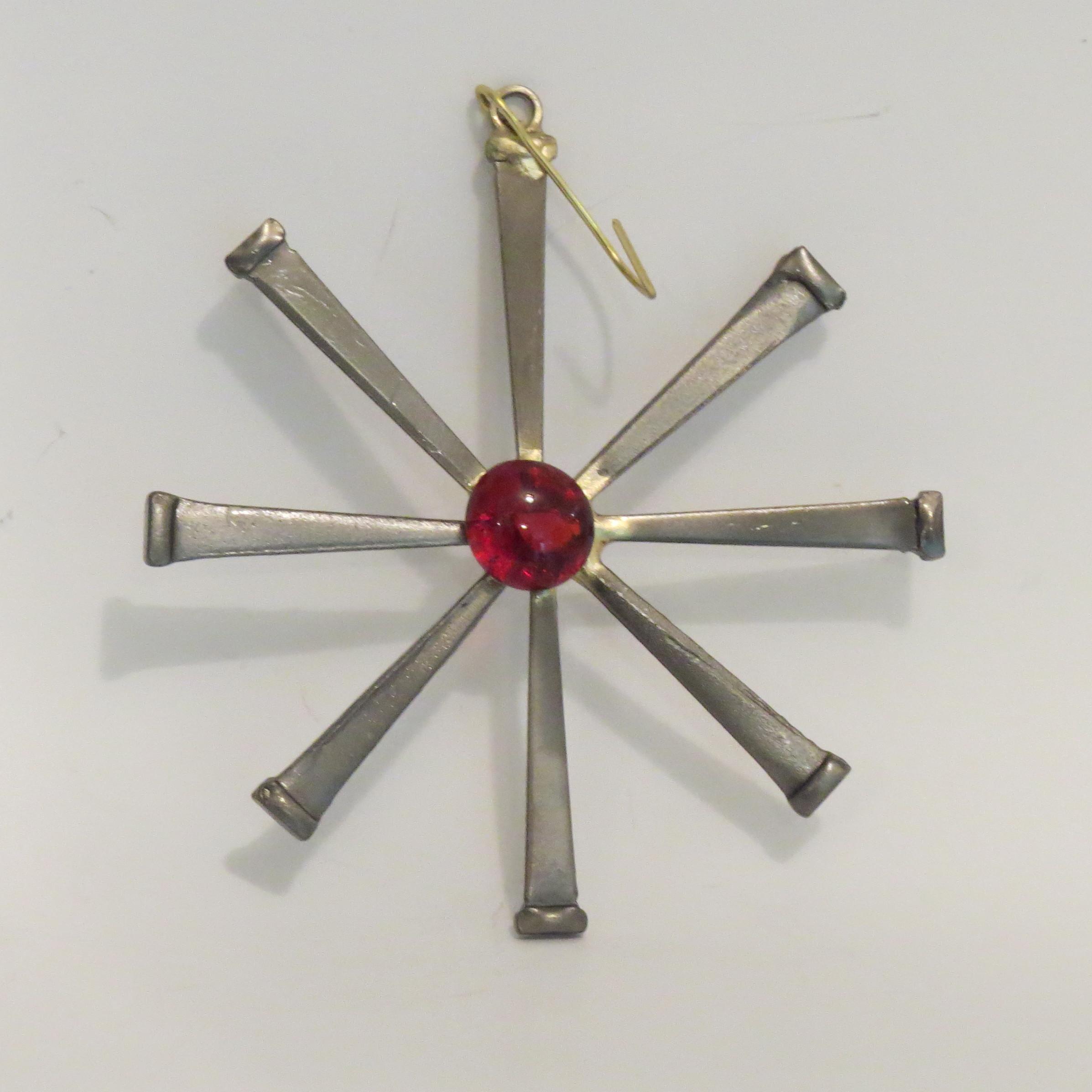 Flower - large red gem