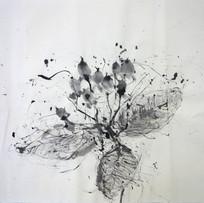 墨の表現であそぼう 最高学部1年 絵画[2020]