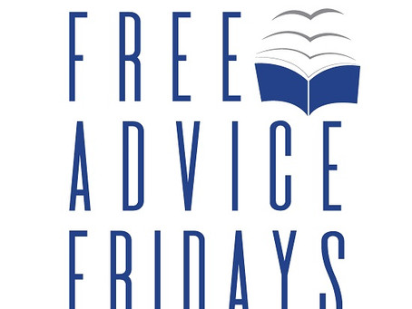 Tune in this Friday to Free Advice Fridays!