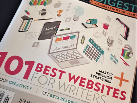 "Writer's Digest's ""101 Best Websites For Writers"" Issue, 2020"