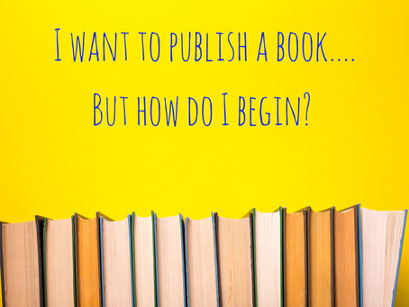 My Advice on Publishing Your Own Book