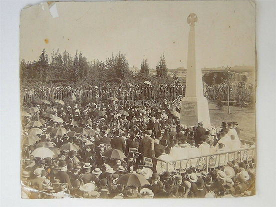 Unveiling of Canterbury Martyrs Memorial