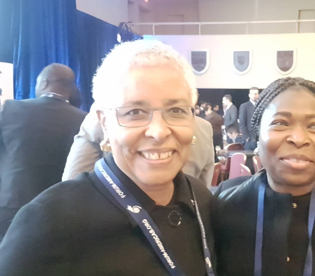 World Economic Forum with Minister of University Ontario