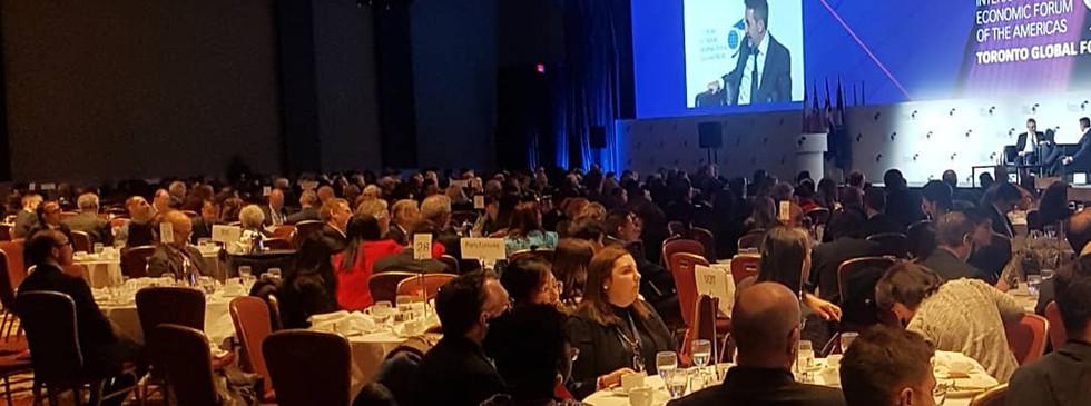 Dr. Olu at World Economic Forum