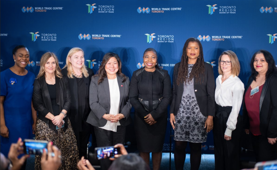 With Women CEOs and The Honorable Mary Ng. canada's Minister of International Trade & Export