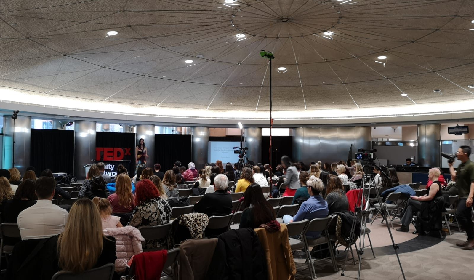 Dr Olu at TEDx 2018