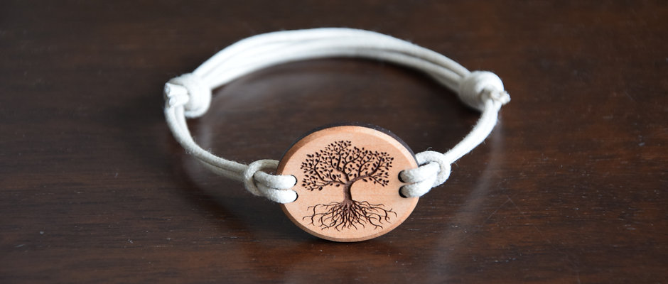 Bracelet Tree of life - planted in the world