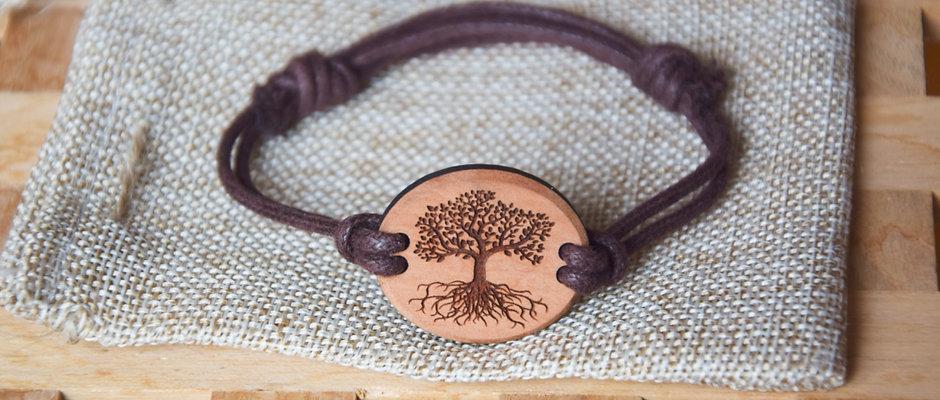 Bracelet Tree of life - planted in Switzerland
