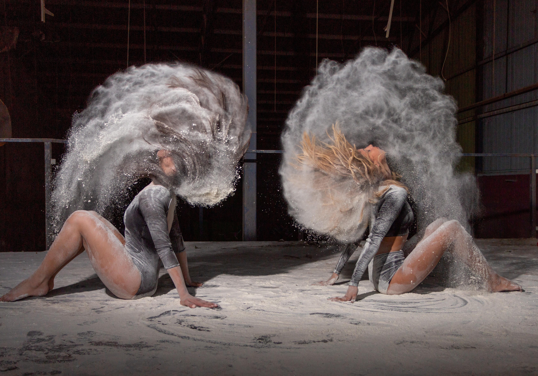צילום רקדניות קמח