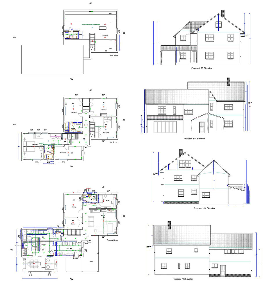 1 Old Priory Road - Proposed plans and e