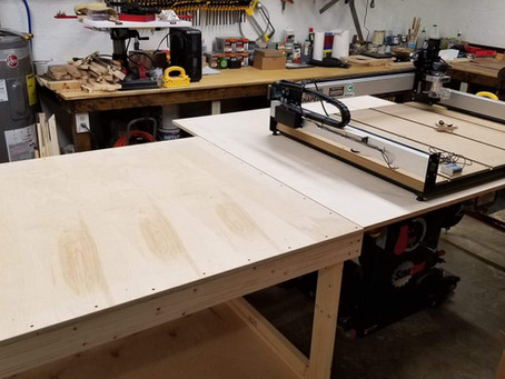 The CNC has a home.