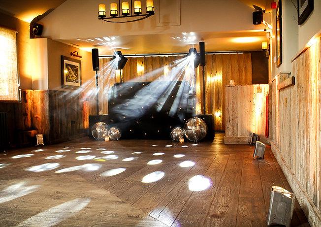 Evening wedding DJ service