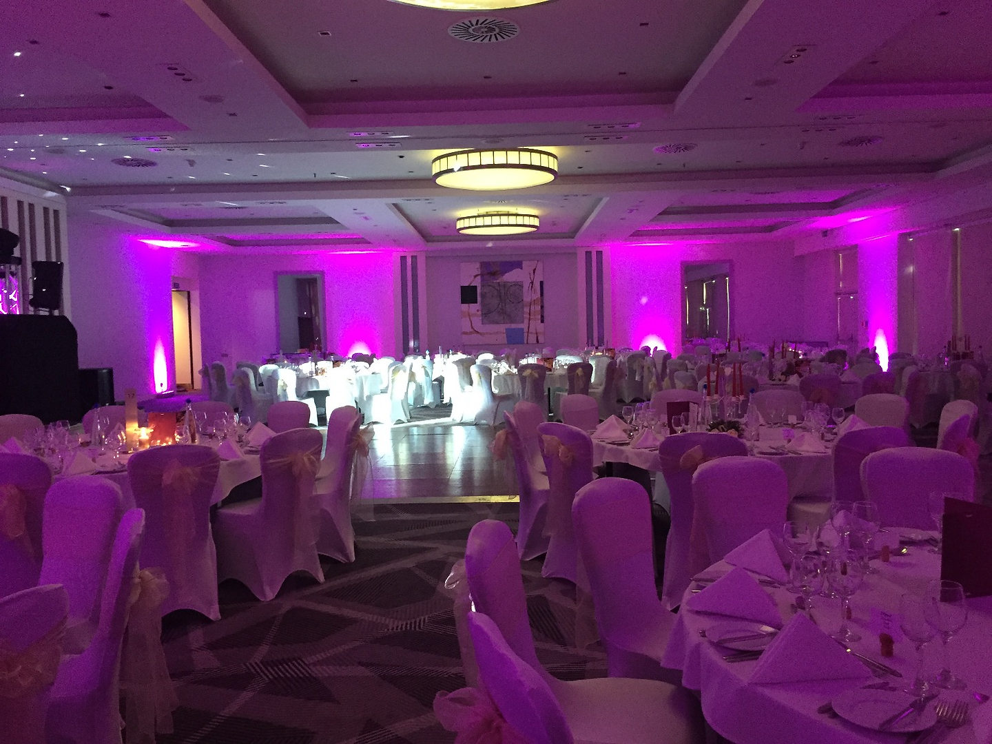 upl lighting at Crown Plaza Marlow