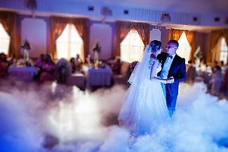 Amazing First Wedding Dance With Fog Smo