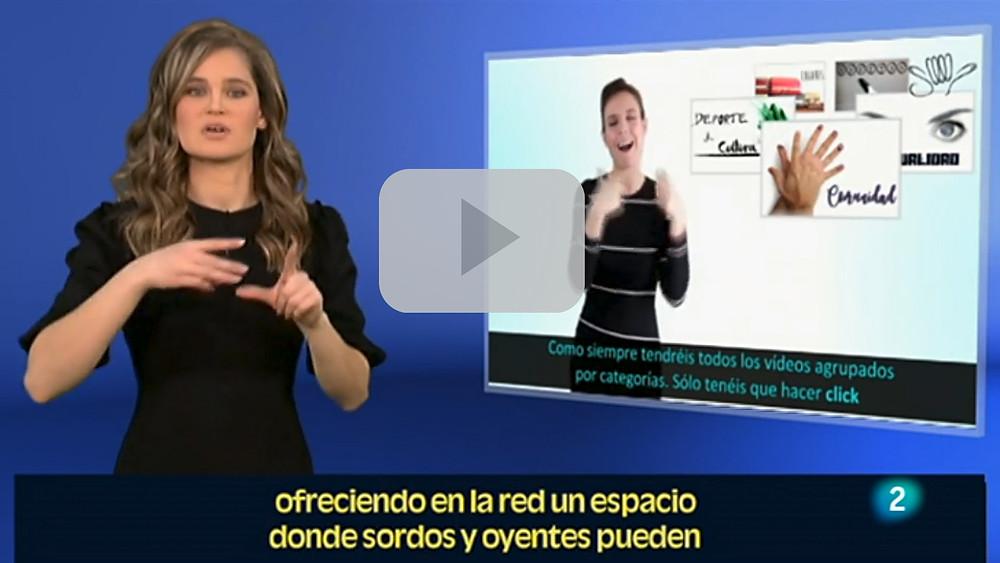 InfoSordos en En Lengua de Signos, La 2 de TVE