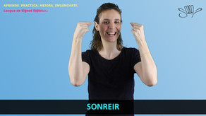 Verbos 1ª, 2ª y 3ª Conjugación - Aprende LSE / Tutorial InfoSordos