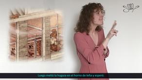 """""""La Gallinita Roja"""" - Cuento para niños en Lengua de Signos Española"""