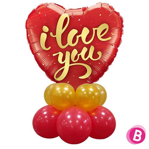 Décor de table I Love You Or