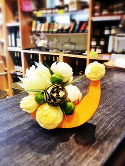 sculpture légumes