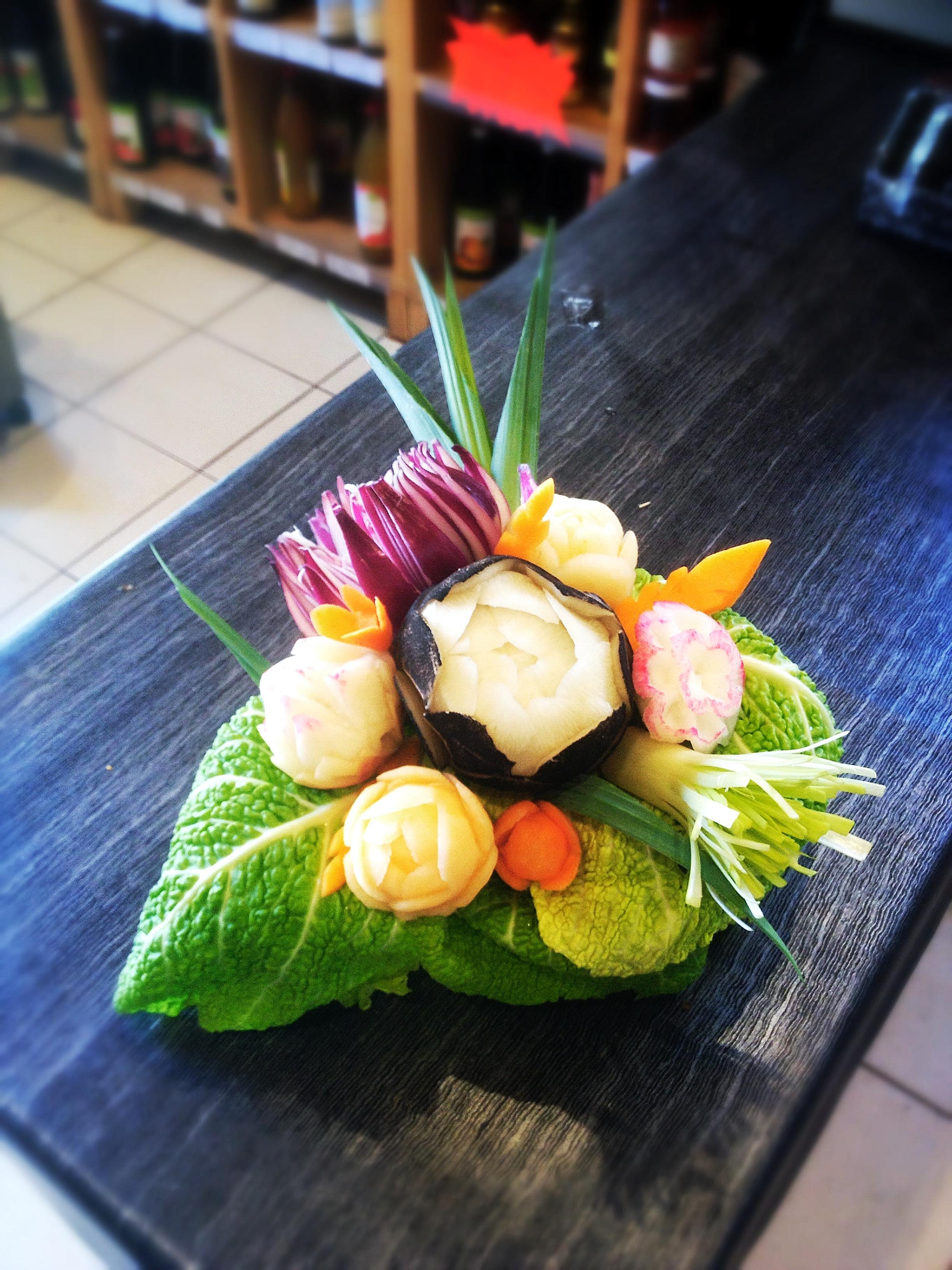 bouquet de légumes
