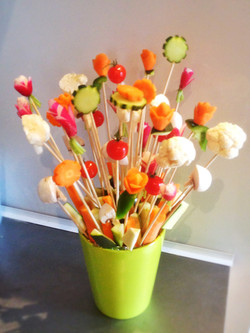 bouquet de légumes a croquer