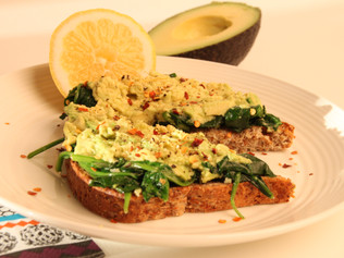 Spinach & Avocado Toast