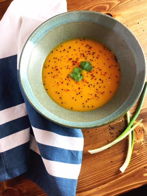 squash miso soup
