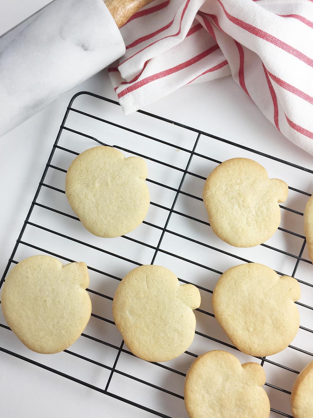 Halloween sugar cookies