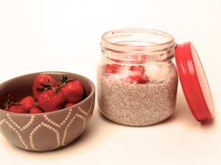 Strawberry Chia Porridge