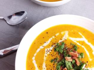Creamy {Hubbard} Squash Soup