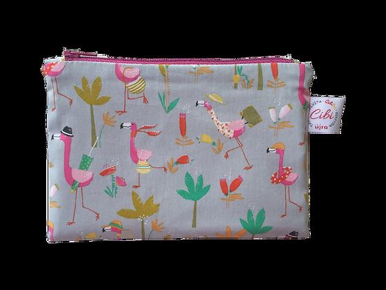 ÉLELMISZERBIZTOS ÚJRATASAK - Flamingó 18x12