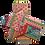 Thumbnail: ÉLELMISZERBIZTOS SZETT - Hippi 18x12 asztali szalvétával