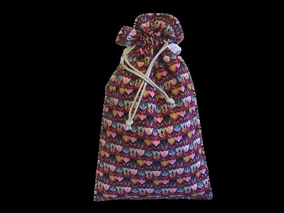 Bélelt Kenyeres Zsák - Tulipán bordó