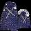 Thumbnail: Bélelt Kenyeres Zsák szett - Kékfestő