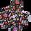 Thumbnail: ÉLELMISZERBIZTOS SZETT - Csajos cuccok asztali szalvétával