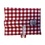 Thumbnail: ÉLELMISZERBIZTOS ÚJRASZALVÉTA - Kockás piros XL
